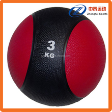 custom weight home gym training rubber medicine ball