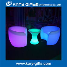 Decorative table covers used nightclub inflatable furniture set