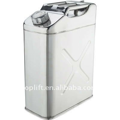 20L Stainless Steel fuel can