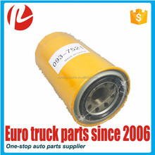 European heavy duty truck body parts lubrication system oem 0937521 high quality oil filter