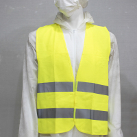 Wholesale High Visibility Safety Reflection Vest Fluorescent Yellow Cheap Reflective Vest hi vis running vest