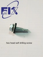screw with washer 6.3*25
