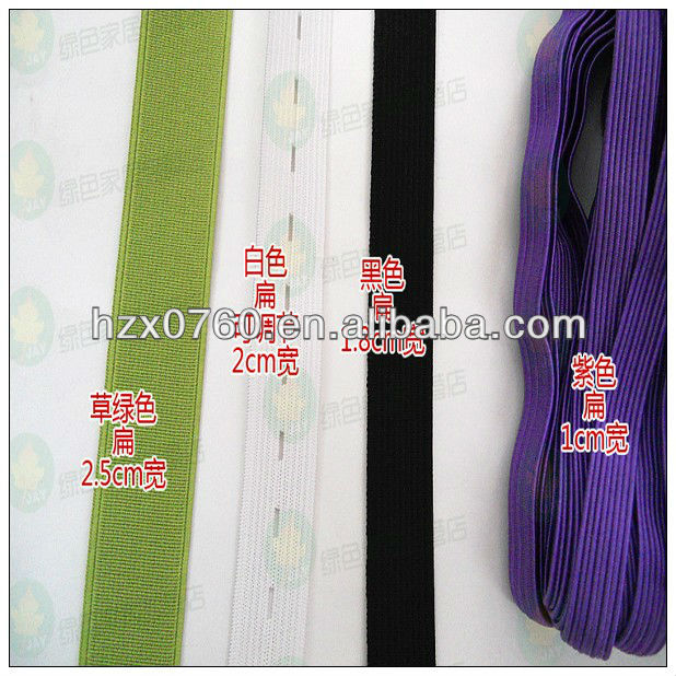 Round extra wide elastic for skirting tile