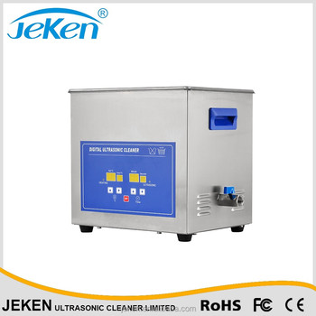 Digital dental ultrasonic cleaning machine for sale Jeken PS-D40A CE FCC certificated