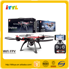 M0167065 Top selling wifi drone fpv 4CH rc quadcopter with camera
