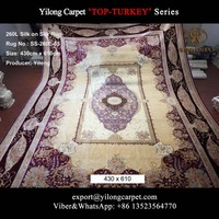 Top-Turkey 260lines Large size decoration persian carpet silk