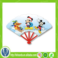 Good advertising gift mini hand fan in Summer