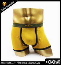 Cotton Yellow french mens underwear sexy photos with client's trade mark