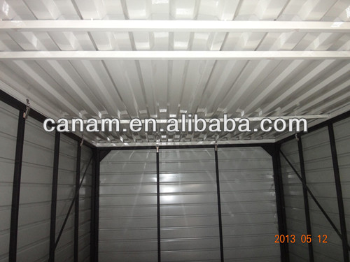 light prefabricated folding container warehouse for 24 hour convenience store