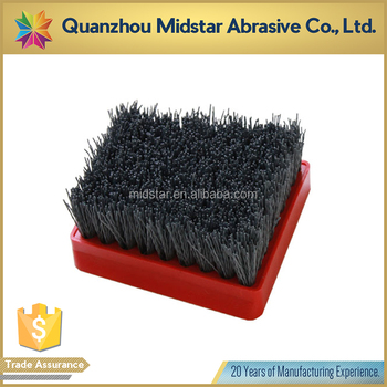 Midstar silicone brush for marble polishing