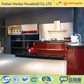 modern kitchen cabinets factory outlet kitchen cabinet with aluminium skirting toe kick