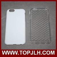 Better Protect TPU Rubber vs Hard Plastic Sublimation Case for iPhone 6