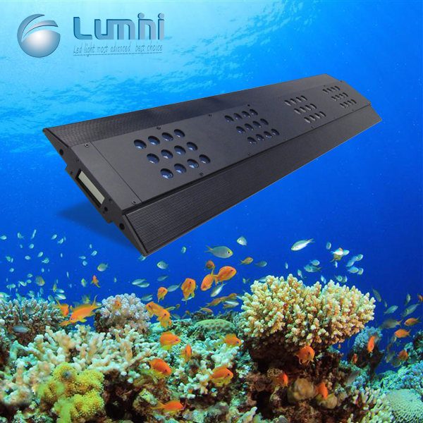 Lumini marine reef led 3w chips 180w high power led aquarium light