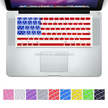 Customized Silicone/TPU Laptop/Keyboard Cover Skin Dust Protector Cover with Any Keyboard