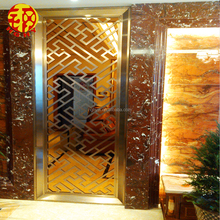 stainless steel indoor metal wall art laser cut modern privacy screens