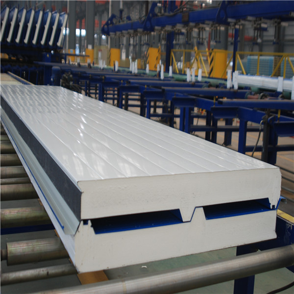 PU Roof Panel Of Corrugated Color Steel Insulated Sandwich Panel