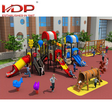 Hot sale cheap colorful spiral children outdoor playground slide