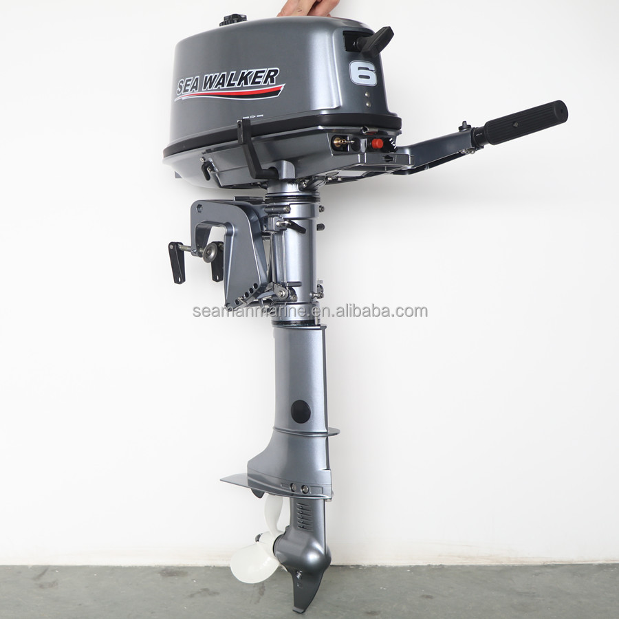 2 Stroke 6HP marine Outboard boat Engine boat Motor for small fishing dinghy boat kayak sailing