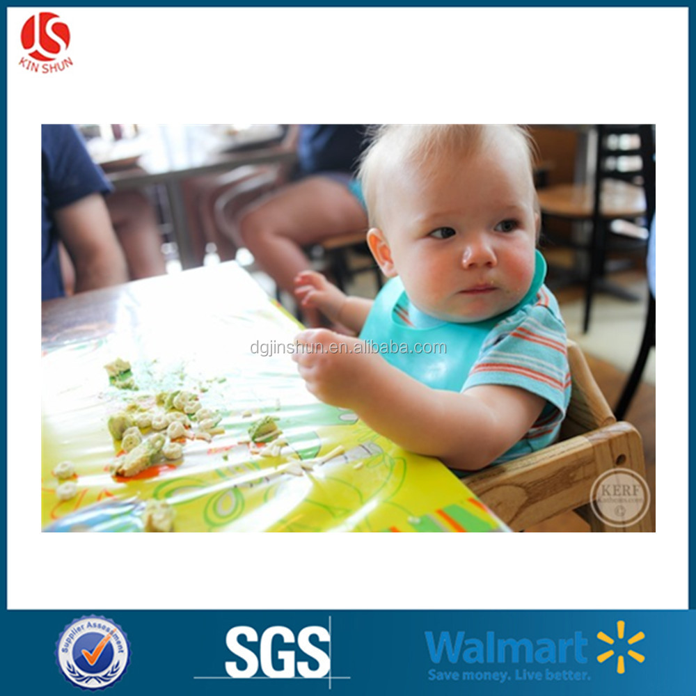 Cheap Eco-friendly Kitchen Advertising Colorful Promotional Printed Microfiber Felt Placemat