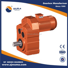 good price f series Helical Gearing parallel helical gearbox with motor