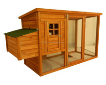 Big size wooden chicken coop