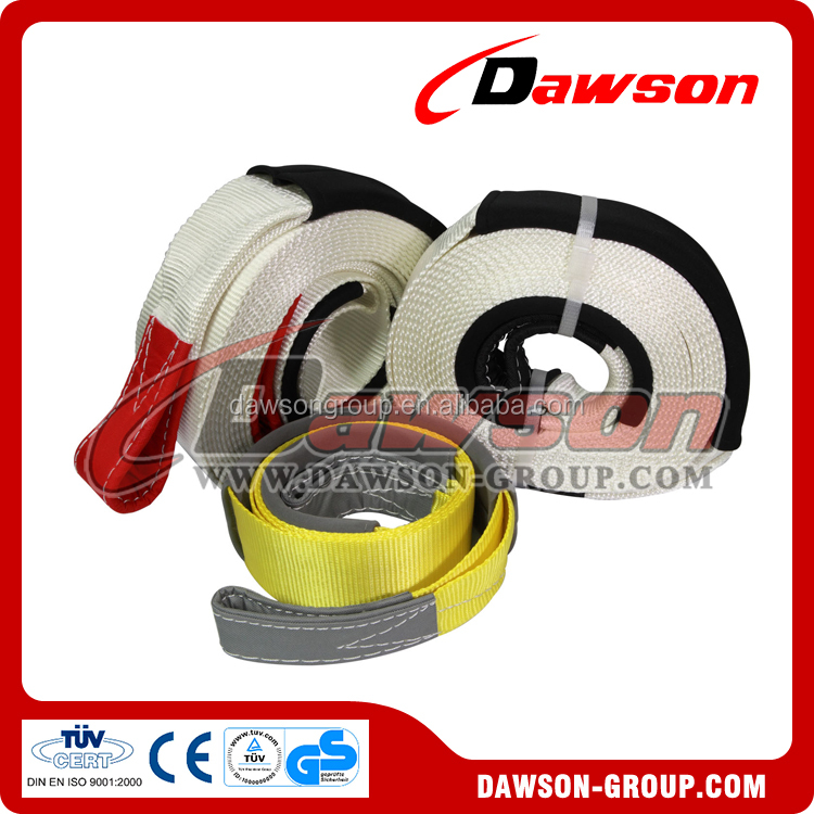 China manufacture heavy duty polyester towing strap