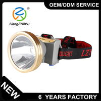 18650 Li ion battery type and 10 Lighting Period (h) led headlamp