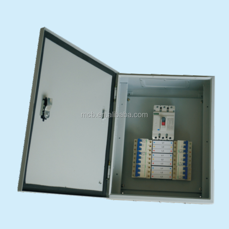 intelligent metal waterproof mcb power electrical power supply cabinet