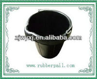 cement rubber bucket with handle and rope/Tyre rubber bucket,Tanker bucket,Industrial Bucket