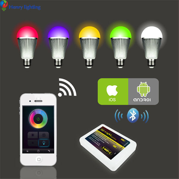 Hot sale smart Bluetooth Speaker LED Bulb With Remote Control