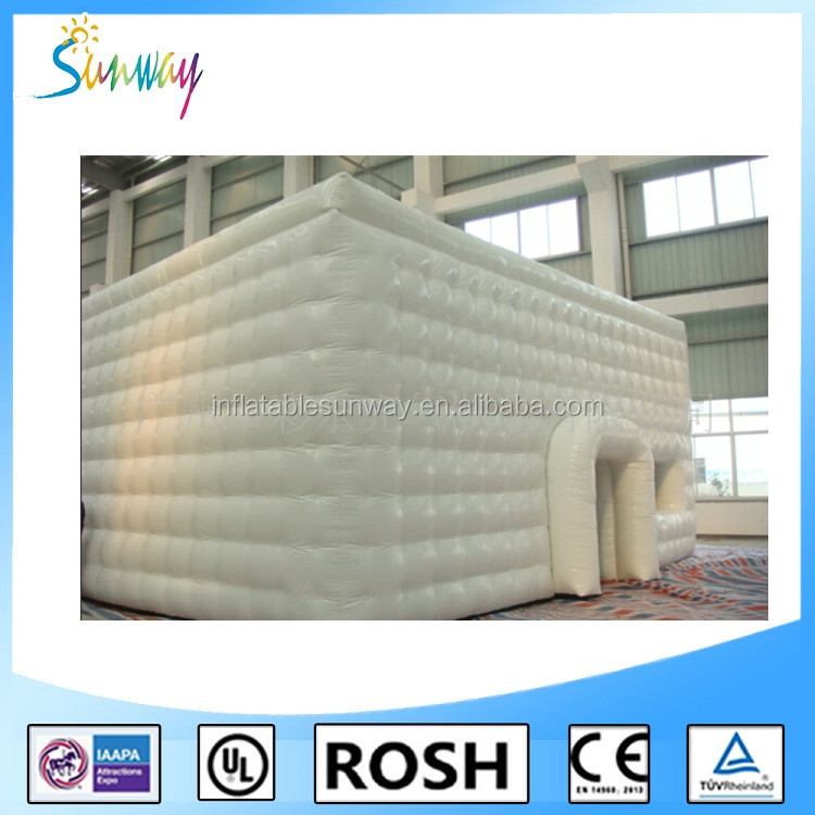 Sunway Giant Inflatable Event Cube Building With Factory Price