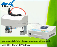Pneumatic CNC handheld dot peen marking machine marking on metal,plastic, VIN Number marking machine price