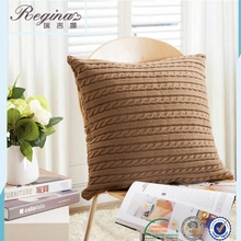 square knitted decorative pillow cushion sleep apnea funny pillow