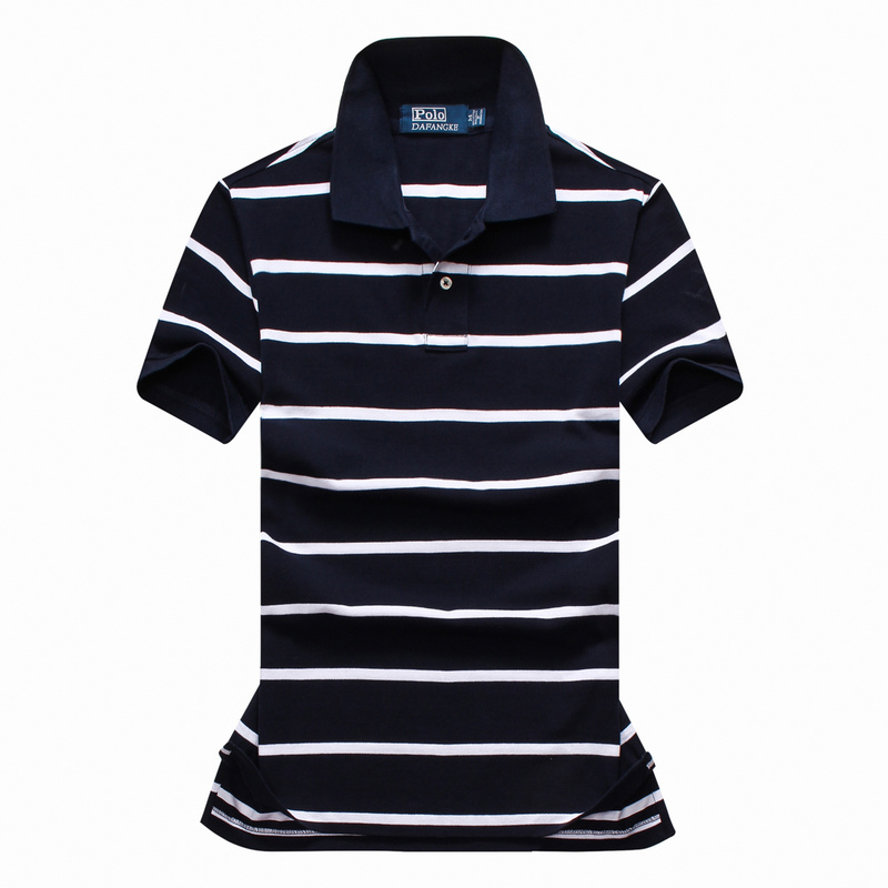 Top Quality Men's POLO shirts Short Sleeve with Stripes 100% Cotton OEM #P01