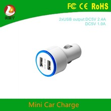 Low price and high quality used mobile phones dual port car charger USB