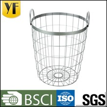 Country style golf ball metal wire basket for hot sale
