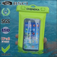 2016 Custom Design Summer PVC Material Waterproof CellPhone Case