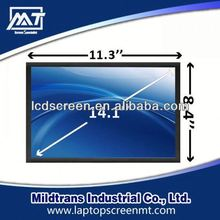 100% original replacement Laptop LCD screen CLAA141WB05-A laptop privacy screen protector for 14.1 inch notebook