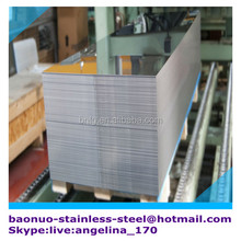 mirror finish 316L stainless steel metal sheet for decorative wall panel