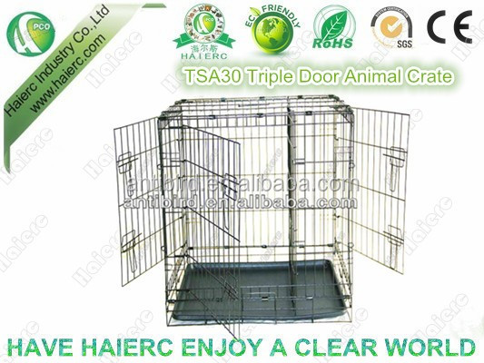 Haierc Small Animals Cage Stainless Steel Cage Metal Dog Cage