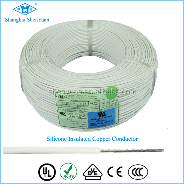 UL3135 Silicone 16 gauge copper heating electric cable cable wire