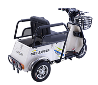 popular 3 wheel brushless 500w electric tricycle/E rickshaw ,China Best price double seat tricycle electric tricycle