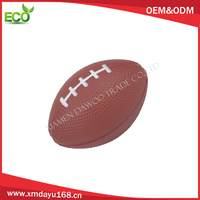 promotional OEM PU foam cheap rugby ball