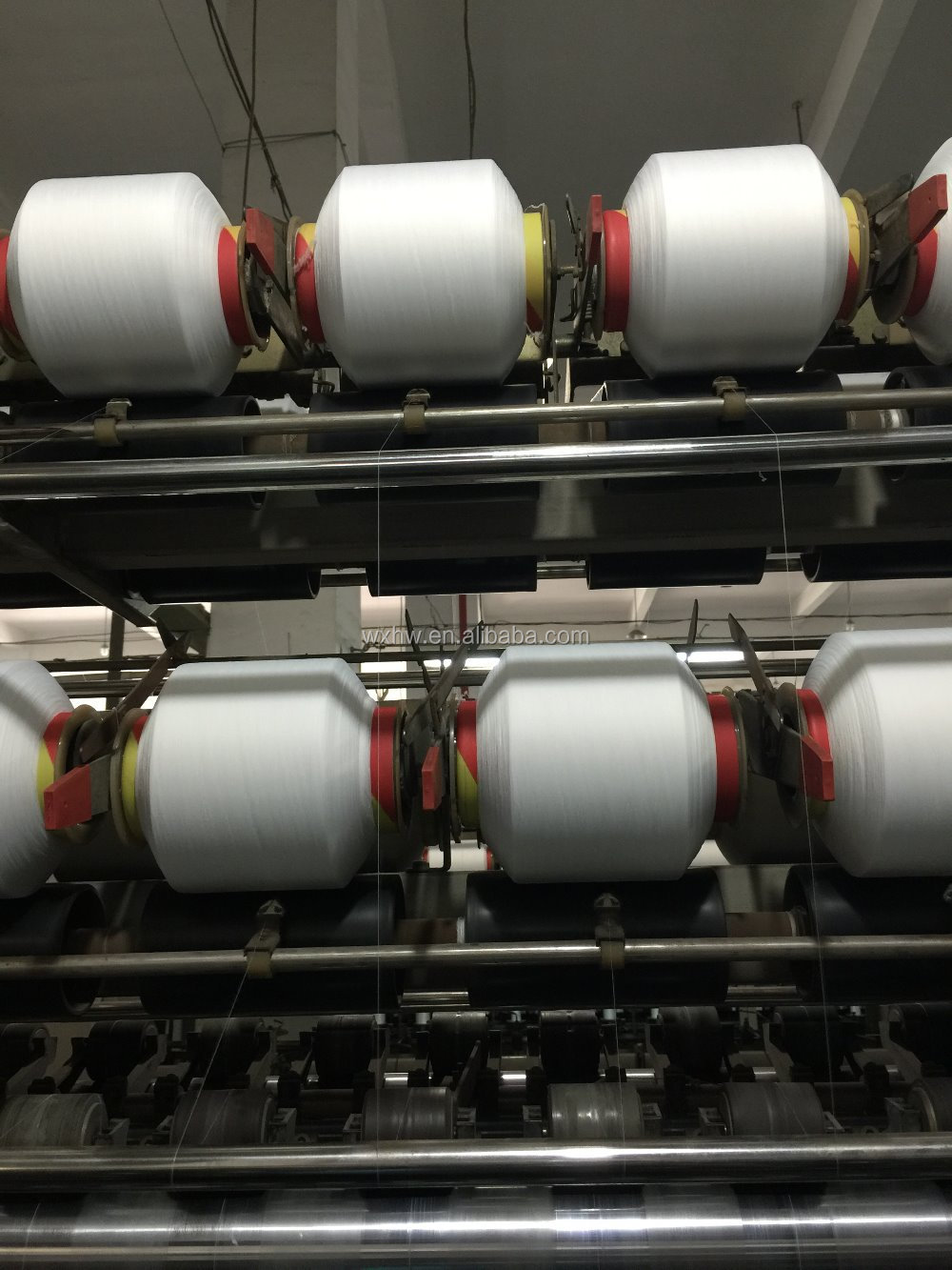 HW383 Energy Saving Covering Yarn Machine for Lycra
