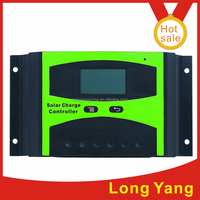 12V/24V 30A 40A 50A LCD solar charge controller solar photovoltaic regulator for off-grid solar panel system