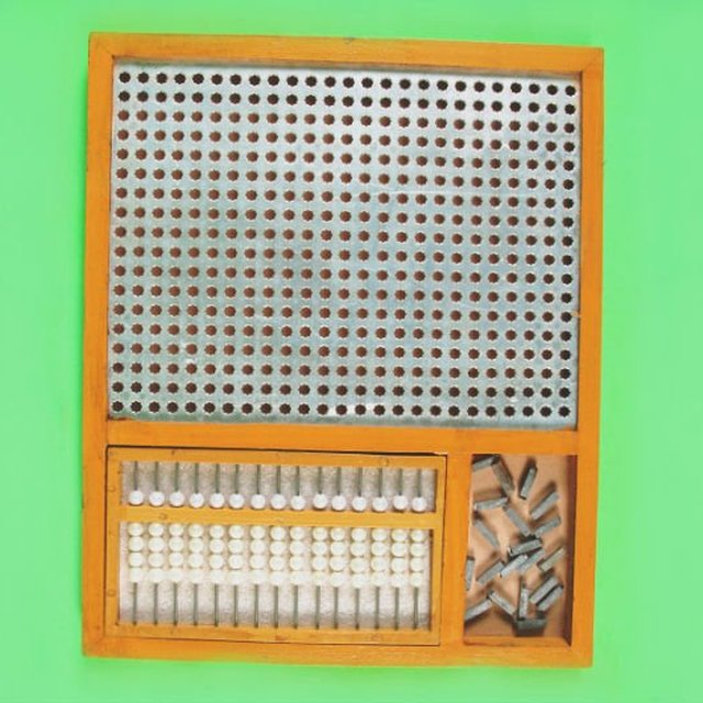 Combined Arithmetic & Abacus frame