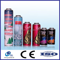 Aerosol tin can/printing tinplate spray can/coating inside printing inside