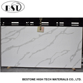 White Calcatta Artificial Quartz Stone in Stock On Sale