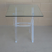 high quality glass acrylic dining table for tea and coffee factory price