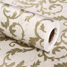 PVC D Name Adhesive Thick Vinyl Cork Wallpaper